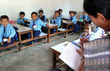 Late Awakening Education In Community Schools Schools In Nepal