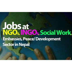 Jobs at NGOs, INGOs, Social Work, Embassies,Peace